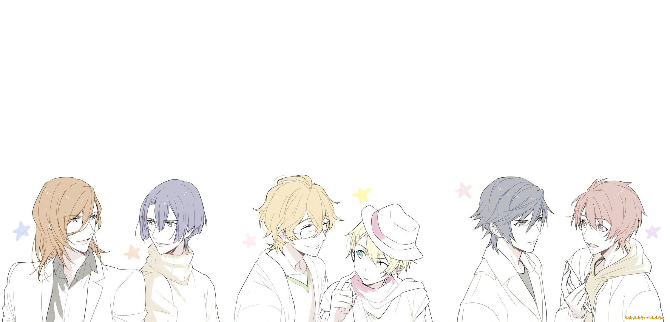 аниме, uta no prince-sama, поющий, принц